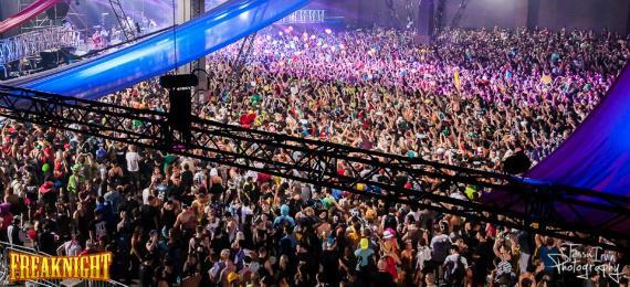 Il pubblico del FreakNight Festival