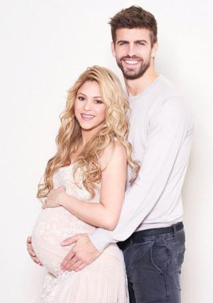 Shakira incinta con Gerarg Piqué