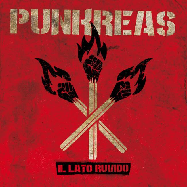 Copertina album Il Lato Ruvido Punkreas