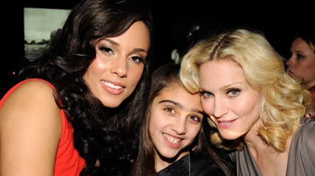 Alicia Keys, Madonna e sua figlia Lourdes Maria