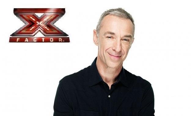 Linus con il logo di X Factor