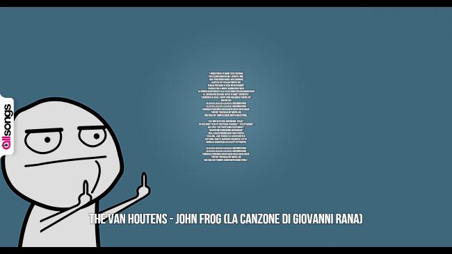 The Van Houtens: le migliori frasi dei testi delle canzoni