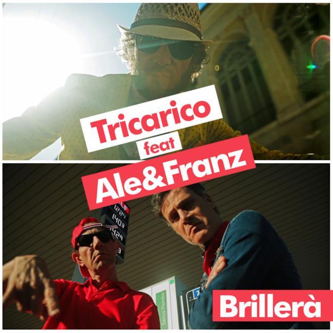 Copertina nuovo singolo Brillerà Tricarico