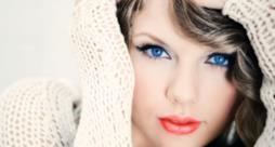 Gli occhi azzurri di Taylor Swift