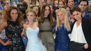 Le componenti della Spice Girls nel 2014 su un red carpet