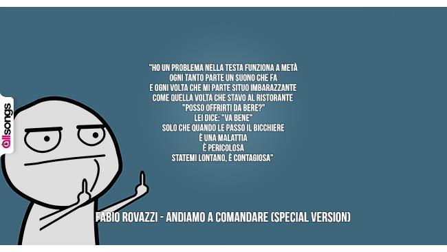 Fabio Rovazzi: le migliori frasi dei testi delle canzoni