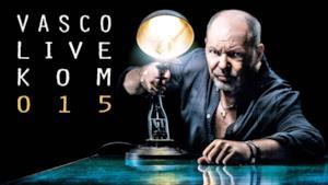 Locandina #LiveKom015 Vasco Rossi