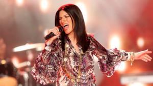 Laura Pausini sul palco