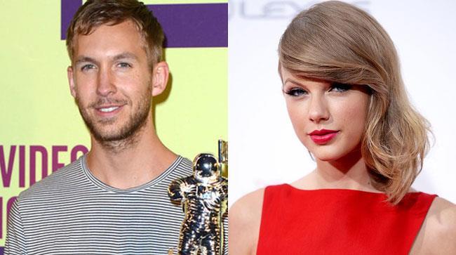 Taylor Swift con Calvin Harris