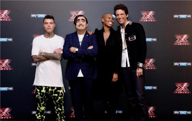 I giudici di X Factor 9 Fedez, Elio, Skin e Mika