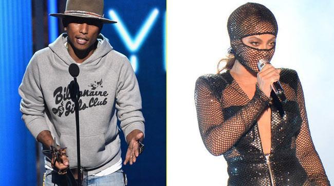 Pharrell e Beyoncé sul palco dei BET Awards 2014