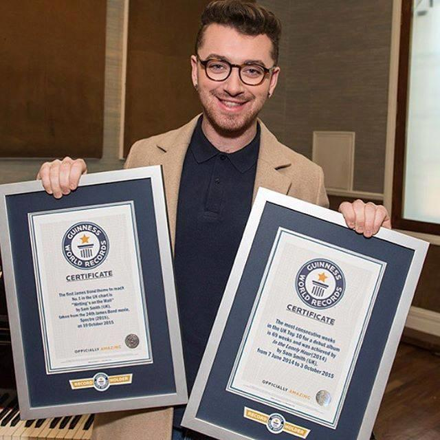 Sam Smith è da record