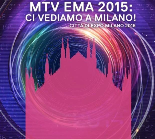 Gli MTV EMA 2015 arrivano a Milano il 25 ottobre 2015