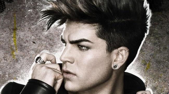 Primo piano di Adam Lambert