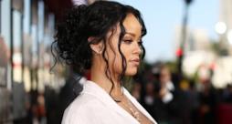 Primo piano di Rihanna