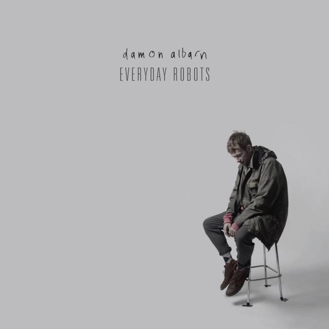 Cover di Everyday Robots - Damon Albarn