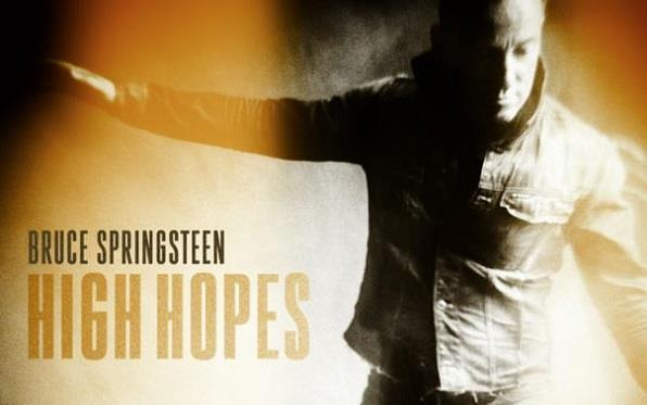 "Bruce Springsteen cover del disco ""High Hopes"""