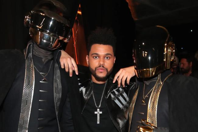 I Daft Punk e The Weeknd
