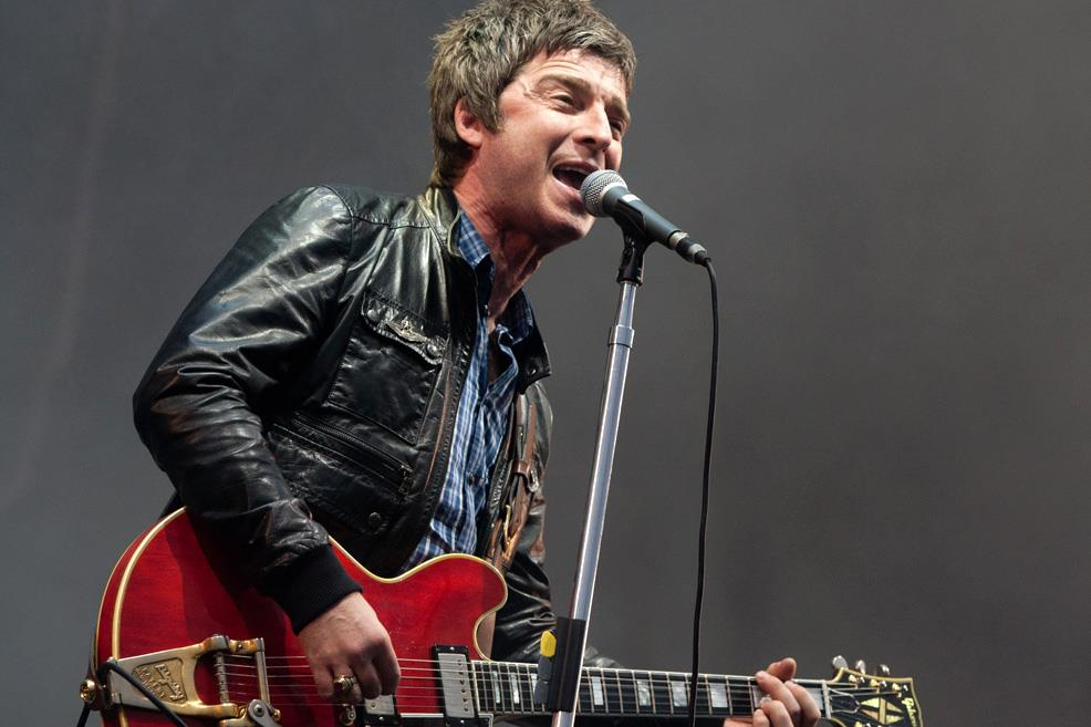Noel Gallagher al T In The Park