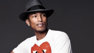 Pharrell Williams con cappello