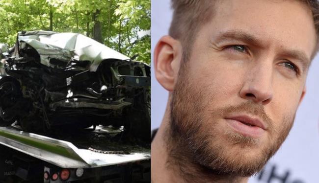 Il dj britannico Calvin Harris coinvolto in un incidente d'auto