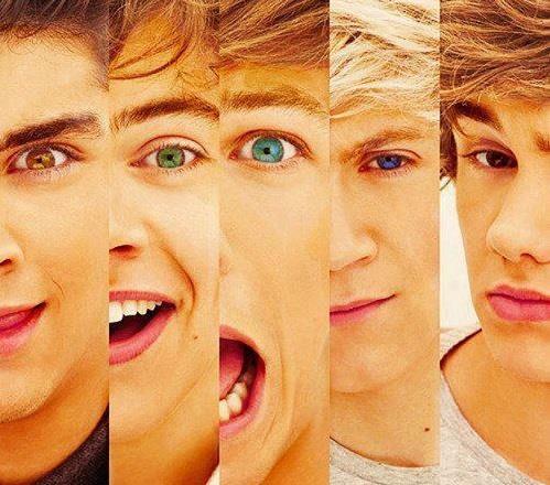 Gli occhi dei 5 One Direction