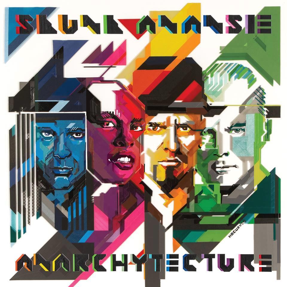Gli Skunk Anansie sulla cover del nuovo disco 2016 Anarchytecture