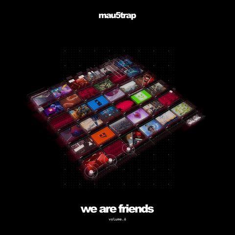 """Copertina della nuova compilation """"We Are Friends"""""""
