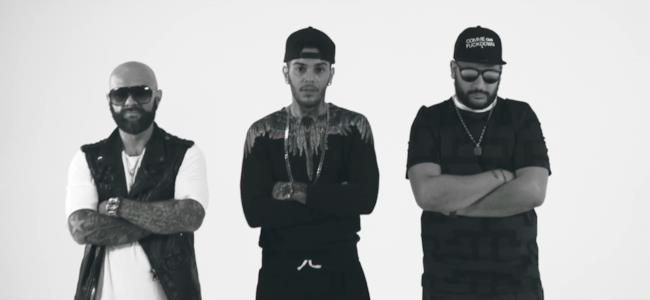 Emis Killa con Giso e Duellz nel video ufficiale di Blocco Boyz