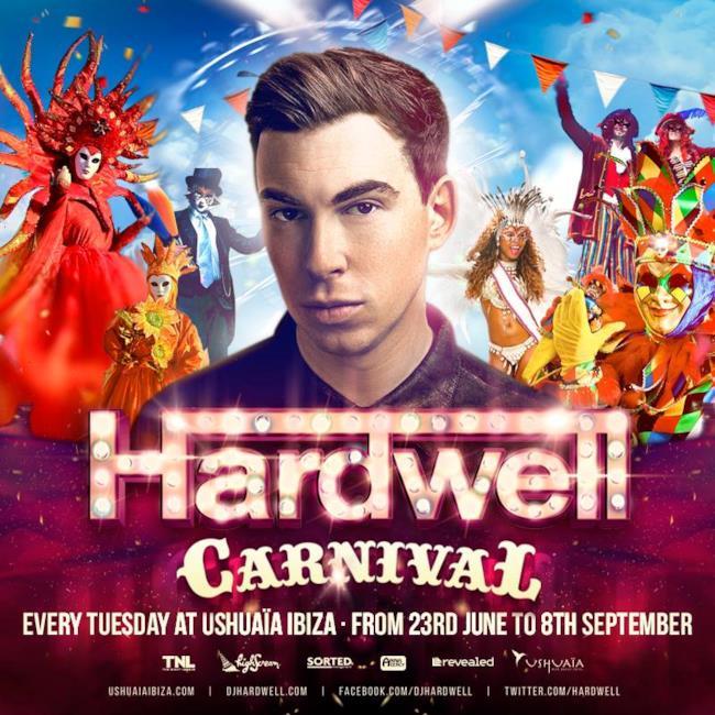 Hardwell è stato annunciato come resident DJ del Ushuaïa Club di Ibiza