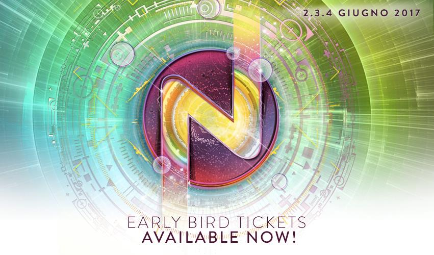 EARLY BIRD TICKETS Nameless 2017