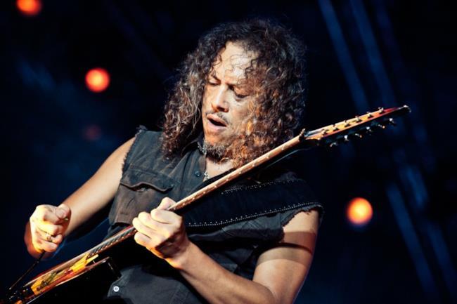 Il chitarrista dei Metallica, Kirk Hammet