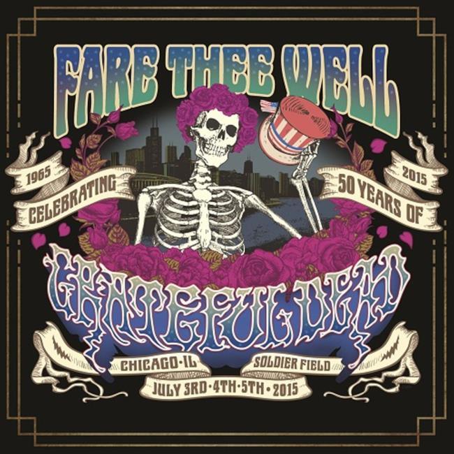 Copertina del cofanetto dei Grateful Dead