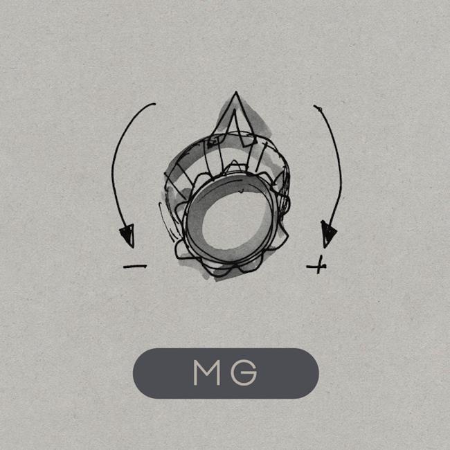 Copertina del disco MG di Martin Gore