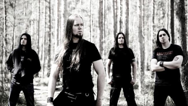 La melodic death band Insomnium