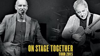 Sting e Paul Simon On Stage Together Tour 2015