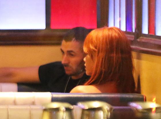 Rihanna e Karim Benzema