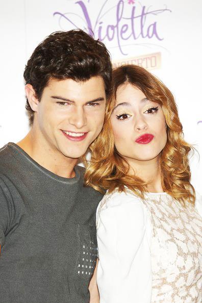 Martina e Diego Dominguez i due protagonisti di Violetta