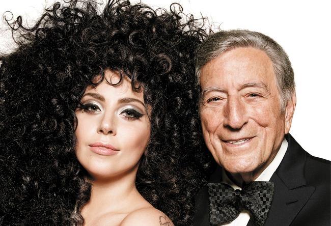 Lady Gaga e Tony Bennett fotografati per H&M