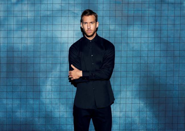 Il dj britannico Calvin Harris