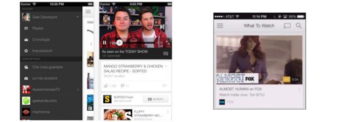 Nuova unità pubblicitaria nell'app di YouTube