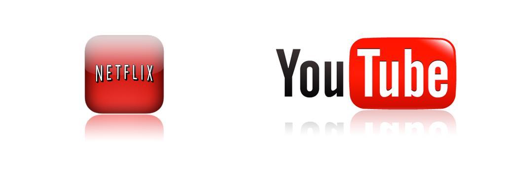 I video di YouTube e Netflix dominano il web americano