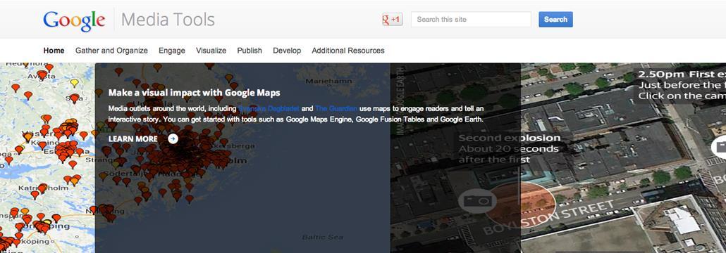 Google Media Tools, il nuovo portale per i media