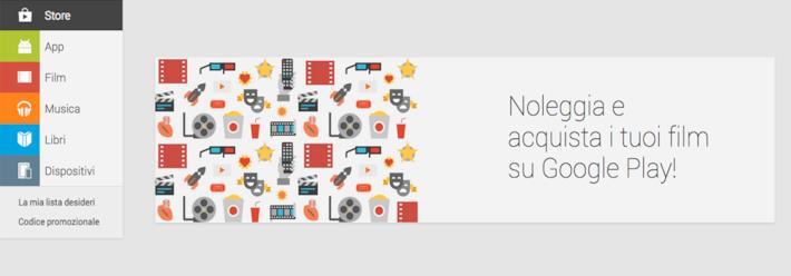 Google Play Movies è arrivato in Italia