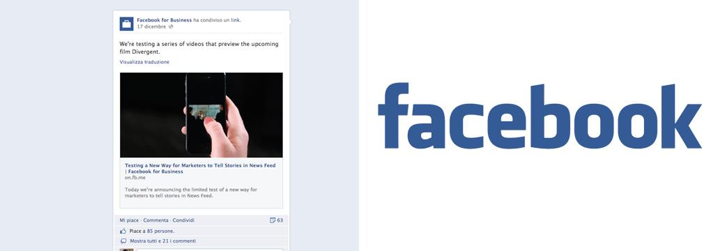 Facebook comincia il test di spot video nel news feed