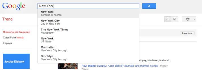 Google Trends introduce una differenziazione più intelligente