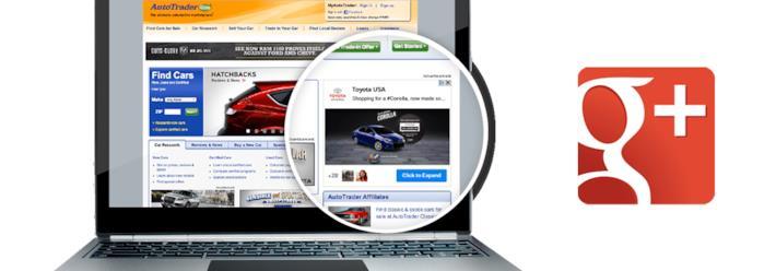 Unità pubblicitaria +Post ads di Google
