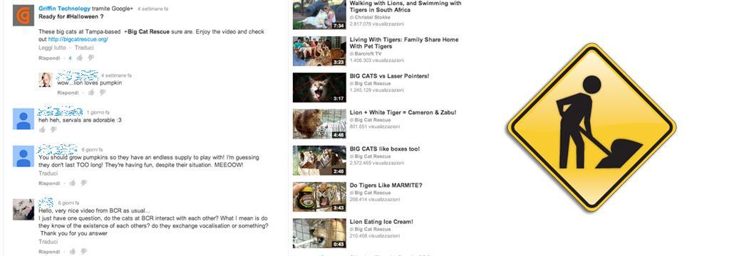 YouTube: i nuovi commenti restano ma li miglioreremo