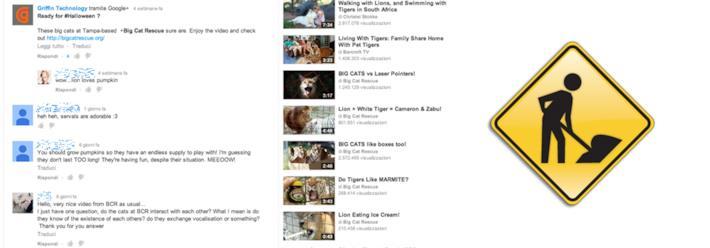 YouTube annuncia di essere al lavoro su un miglioramento dei commenti
