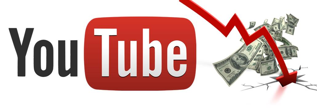 Monetizzazione video, il CPM di YouTube può solo scendere